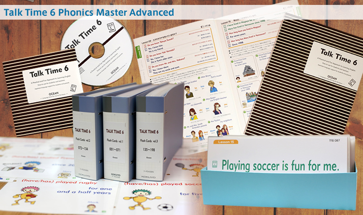 Talk Time 6 Phonics Master Advanced